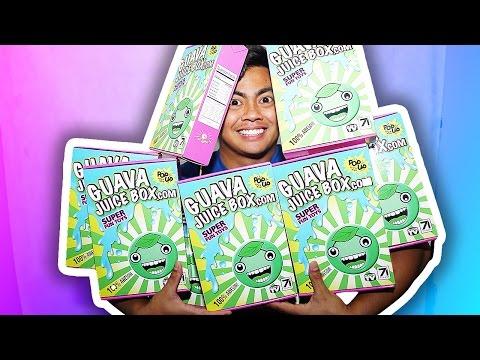 AUTOGRAPHED GUAVA JUICE BOXES + ANNOUNCEMENT + FREE CANDY!