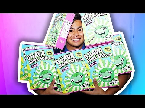 Thumbnail: AUTOGRAPHED GUAVA JUICE BOXES + ANNOUNCEMENT + FREE CANDY!