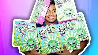 AUTOGRAPHED GUAVA JUICE BOXES + ANNOUNCEMENT + FREE CANDY!
