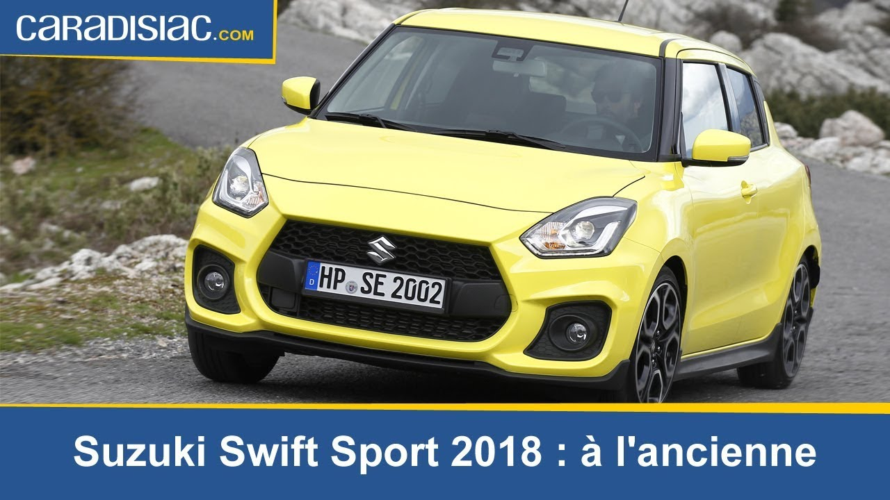 essai suzuki swift sport 2018 une vraie petite gti youtube. Black Bedroom Furniture Sets. Home Design Ideas