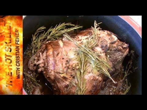 How To Roast A Boneless Leg Of Lamb | The Hot Skillet With Chef Cristian Feher