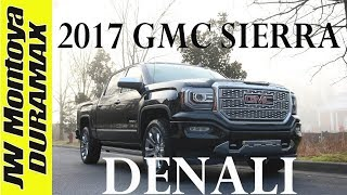 new truck  2017 gmc sierra denali ultimate first look