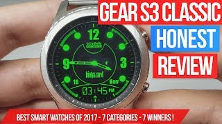 Samsung Gear S3 Classic Review after a year - Is it still the king of the smart watches in 2018?