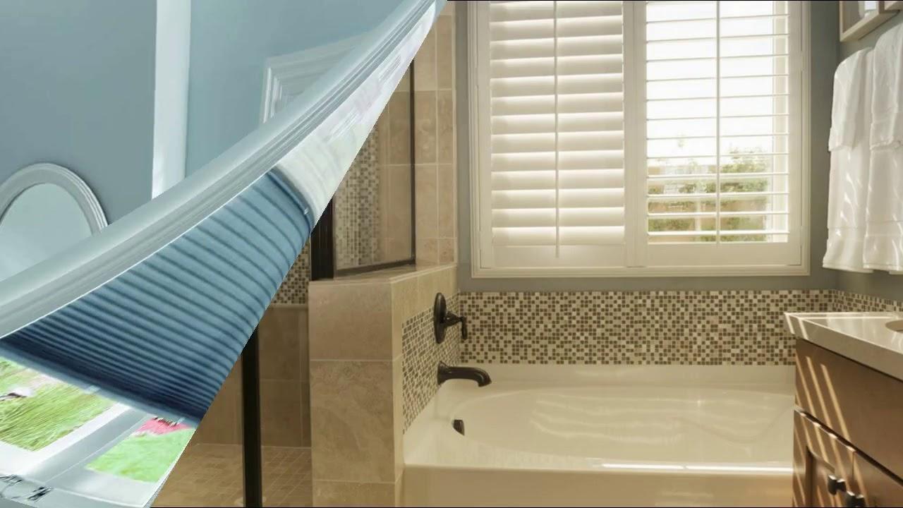 Bathroom Shower Window Shutters Designs