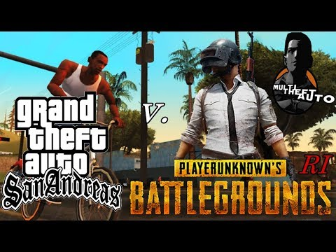Crazy AWM at PUBG GTA San Andreas Version !