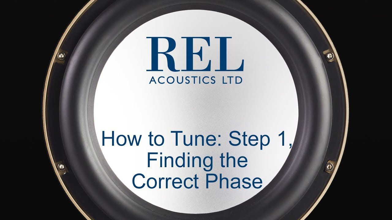 High and Low Level Tuning Guide – REL Acoustics
