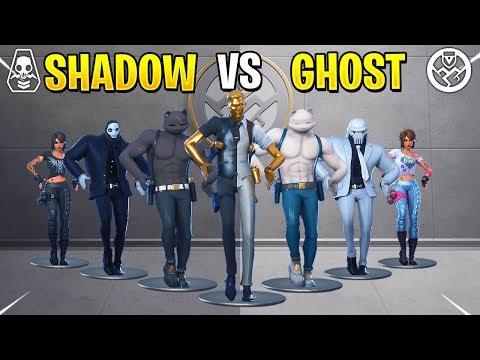 Fortnite Dance Battle: Ghost Vs Shadow