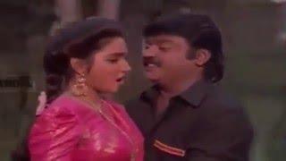 Manjal Poosum Manjal Poosum -மஞ்சள்பூசும்மஞ்சள்பூசும்-Vijayakanth, Sukanya, Love  Duet H D Song
