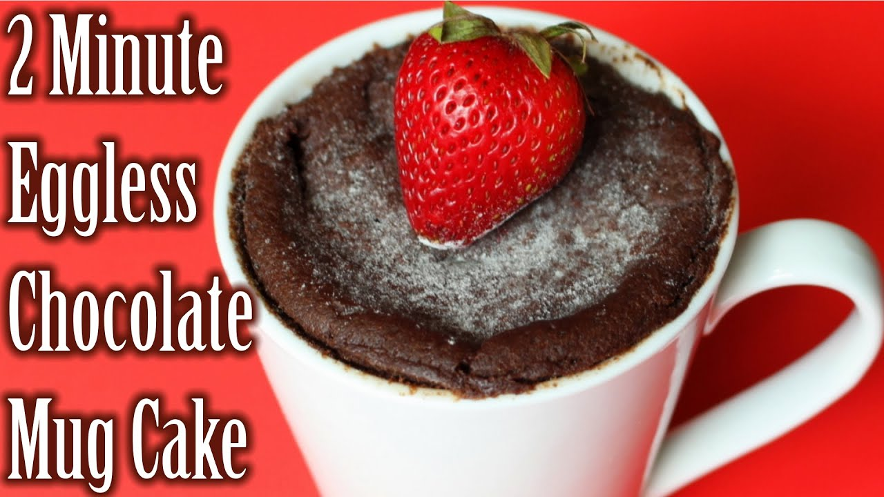 How to make a chocolate cake in a cup