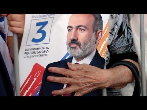 أرمينيا: حزب رئيس الوزراء نيكول باشينيان يفوز بالأغلبية في الانتخابات التشريعية المبكرة  - نشر قبل 3 ساعة