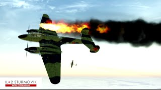 IL-2 Sturmovik Battle Of Stalingrad Crashes Compilation #1 1440p 60 fps