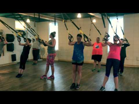 Group TRX Session at Ignite Pilates