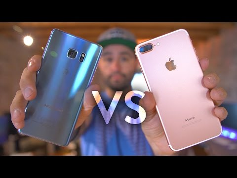 Thumbnail: iPhone 7 Plus vs Galaxy Note 7!