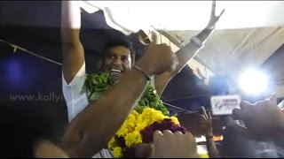 VISHAL | Namathu Ani Winning Celebration |  Thalaivar Posting