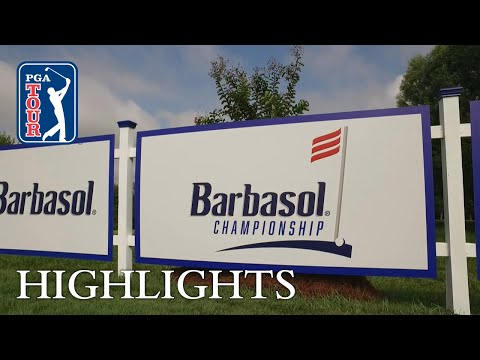 Highlights   Round 4   Barbasol 2018