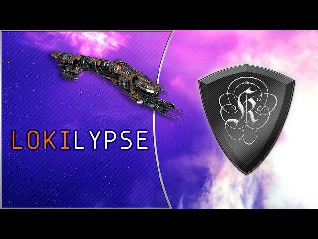 EvE Online PvP: L O K I L Y P S E