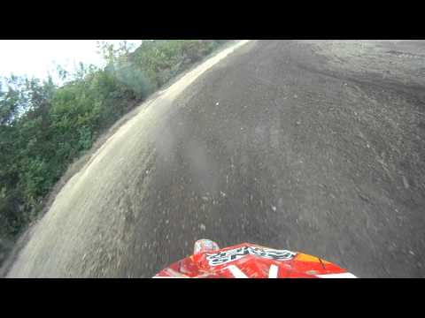 Dirt Bike Riding at Englishtown Track in New Jersey