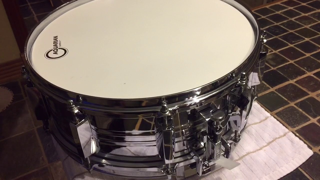 Vintage Yamaha Snare Throw-Off Issue - YouTube