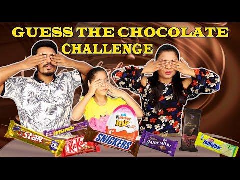CHOCOLATE CHALLENGE I Kid Chocolate Challenge I GUESS THE CHOCOLATE CHALLENGE