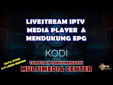 Setup Livestream Dengan Dukungan EPG Menggunakan PVR IPTV Client Sebagai Media Player