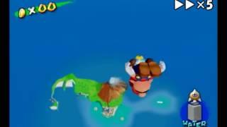 Super Mario Sunshine - Mega Jump (Rocket Storage Demonstration)