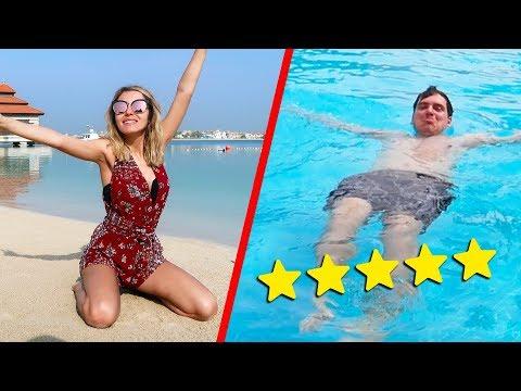 LUSSO A DUBAI! IL MIO RESORT A 5 STELLE - VACANZE a DUBAI con la mia ragazza!! - vlog Dubai #1