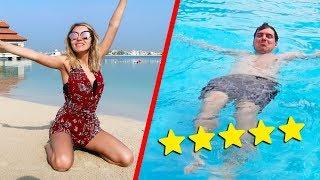 LUSSO A DUBAI! IL MIO RESORT A 5 STELLE - VACANZE a DUBAI con la mia ragazza!! - vlog Dubai #2