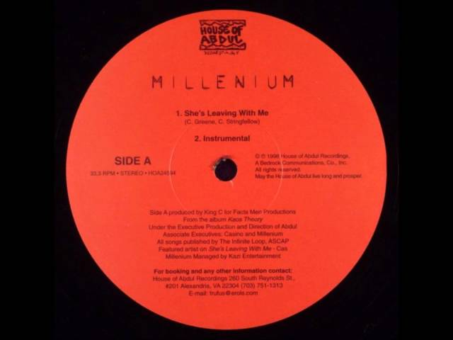 Millenium - She's Leaving With Me