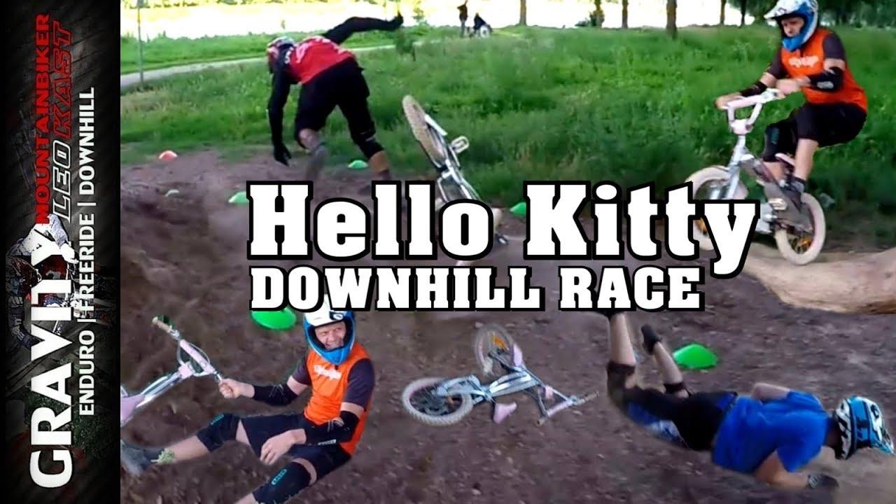 Hello Kitty Opbergkast.Hello Kitty Downhill Race Lustiges Parcours Rennen Mit