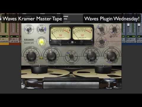 waves kramer master tape waves plugin wednesday youtube. Black Bedroom Furniture Sets. Home Design Ideas