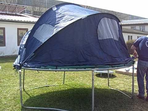 trampolin zelt