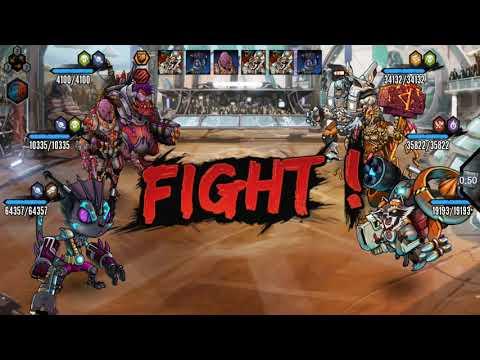 Mutants Genetic Gladiators ( Platinum Overkill )
