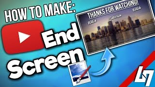 How To Make A YouTube End Screen for FREE in paint.net [tutorial]