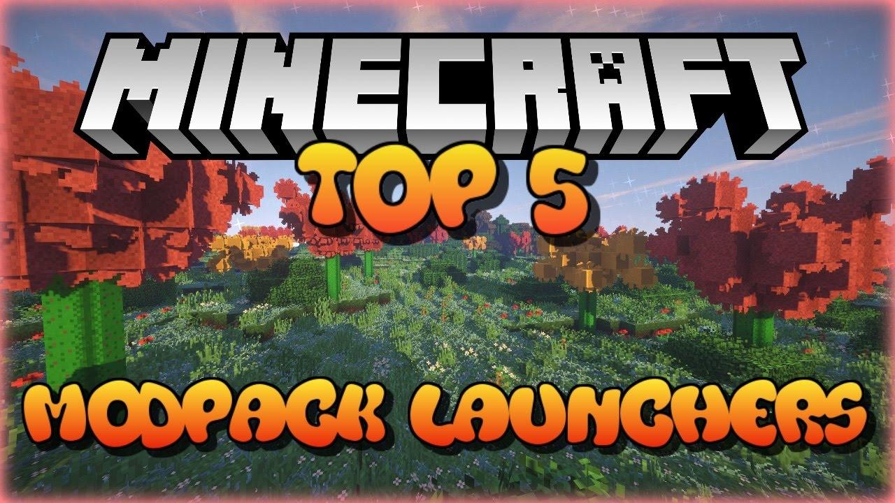 TOP 5 - Minecraft Modpack Launchers! 2016
