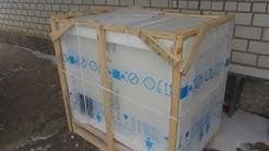 Распаковка Морозильный ларь Indesit OS 1A 300 H из Rozetka.com.ua
