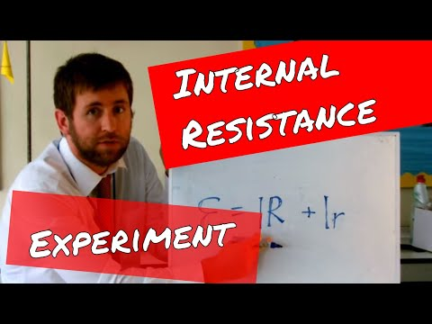 Measuring Internal Resistance - A Level Physics Practical