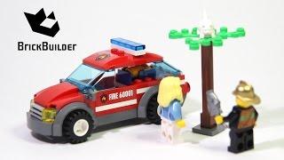 Kijk Lego City 60001 Brandweer commandant filmpje