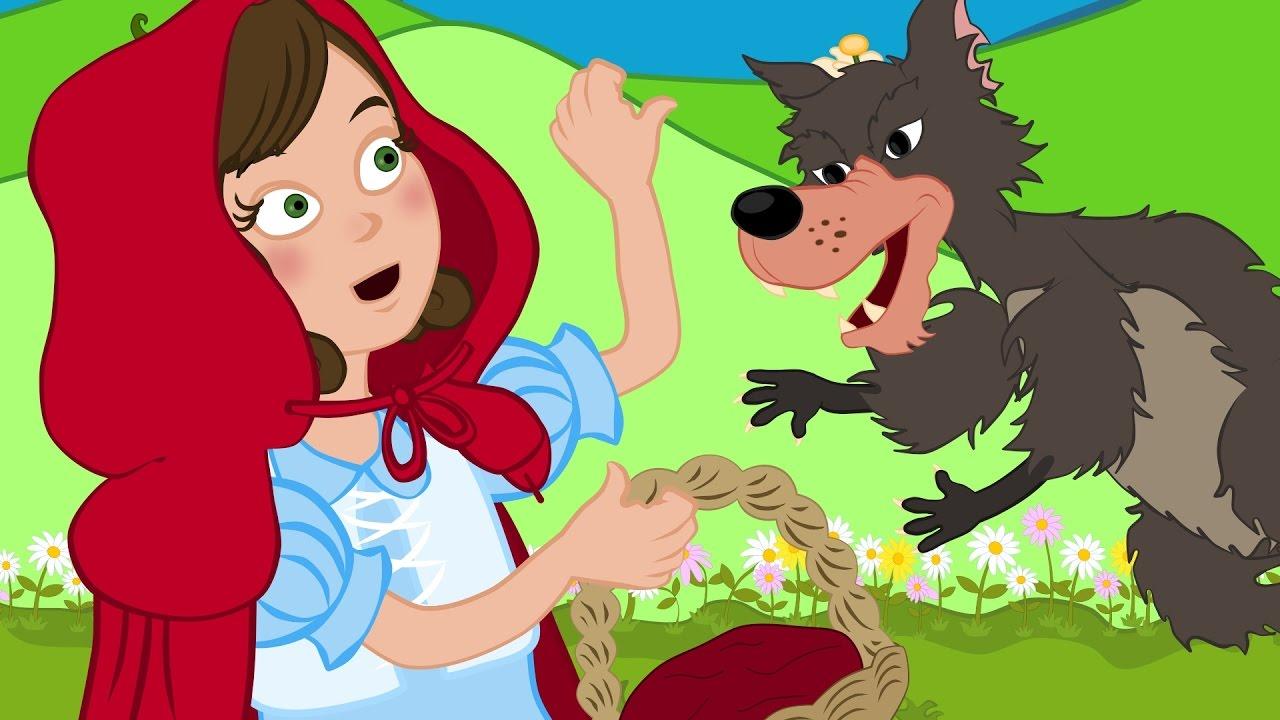 Cappuccetto rosso storie per bambini cartoni animati