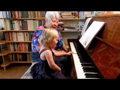 Начальное обучение музыке детей младше 2-х лет по методике Н.С.Лемешкиной