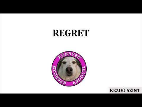 A REGRET ige