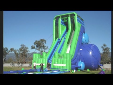 Giant inflatable water slides coming to ABQ
