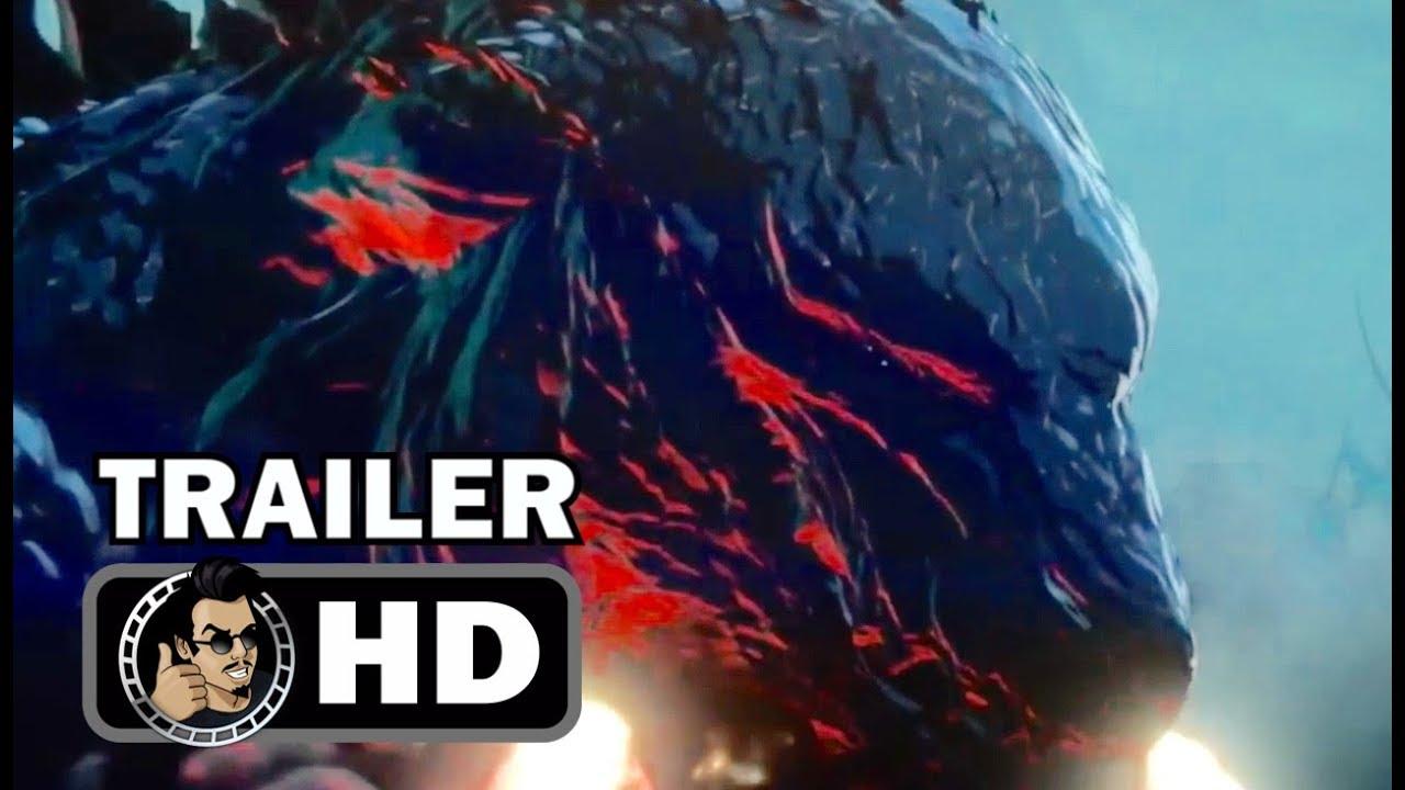 Download GODZILLA: MONSTER PLANET Official Trailer (2017) Toho Sci Fi Anime Film HD