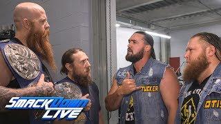 Daniel Bryan & Rowan argue with Heavy Machinery: SmackDown Exclusive, June 4, 2019