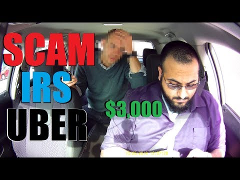 UBER DRIVER SAVES PASSENGER FROM IRS SCAM