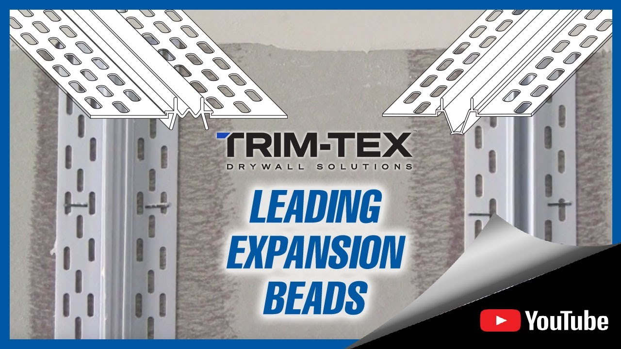 Trim Tex Expansion Beads Youtube