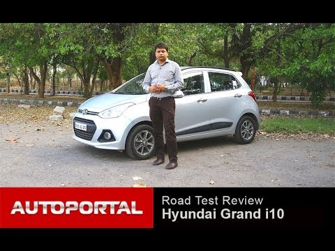 "Hyundai Grand i10 Review ""Test Drive"" - AutoPortal"