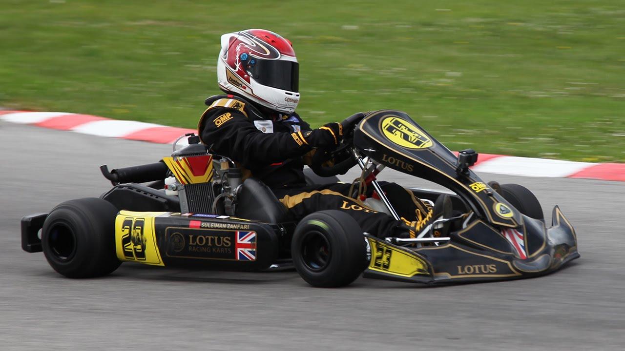 Suleiman Zanfari | Lotus Racing Karts | Euro Final Mini MAX 2016 ...
