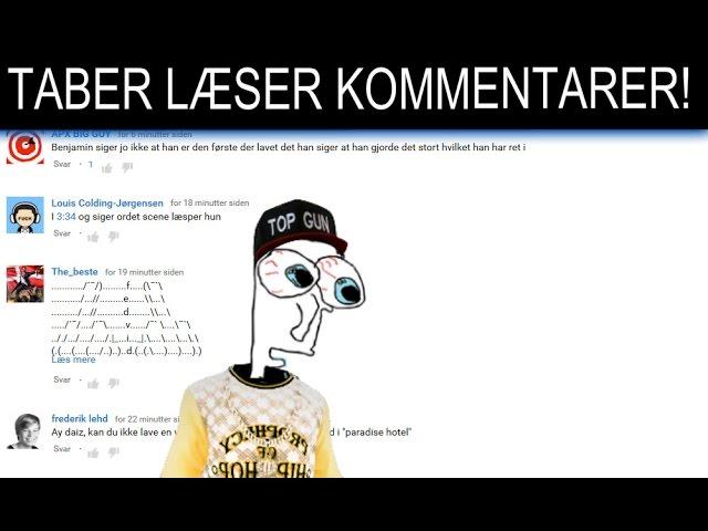 TABER LÆSER KOMMENTARER