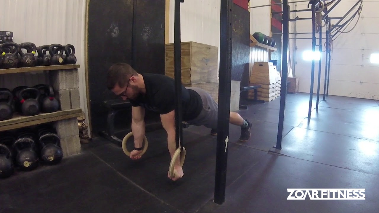 Front Lever Ring Hold (FLR) on the Low Rings