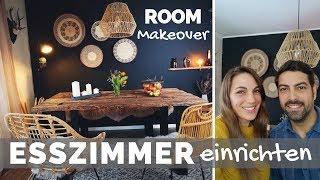 Esszimmer & Arbeitszimmer einrichten & gestalten   Boho - Bohemian - Ethno - Scandi Stil Home Living
